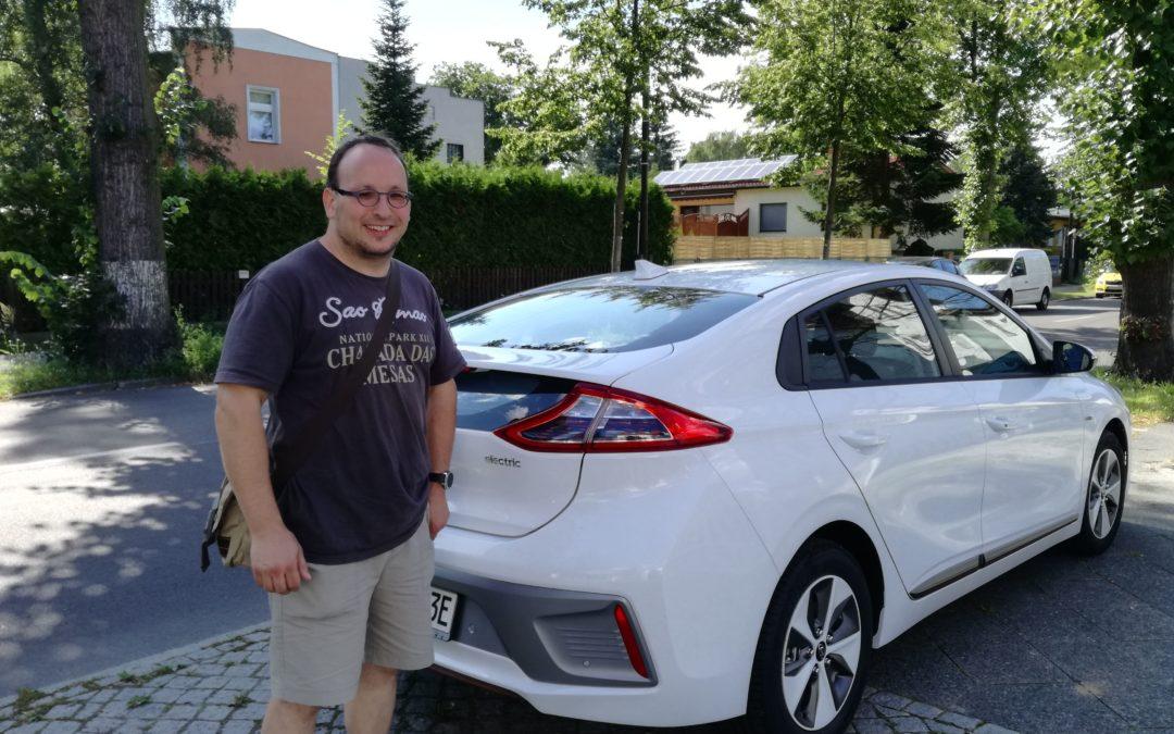 Überführung Hyundai Ioniq Elektro von A nach B (über BI)