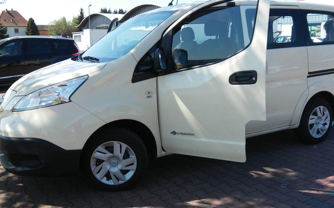 Nissan eNV 200 Testfahrt