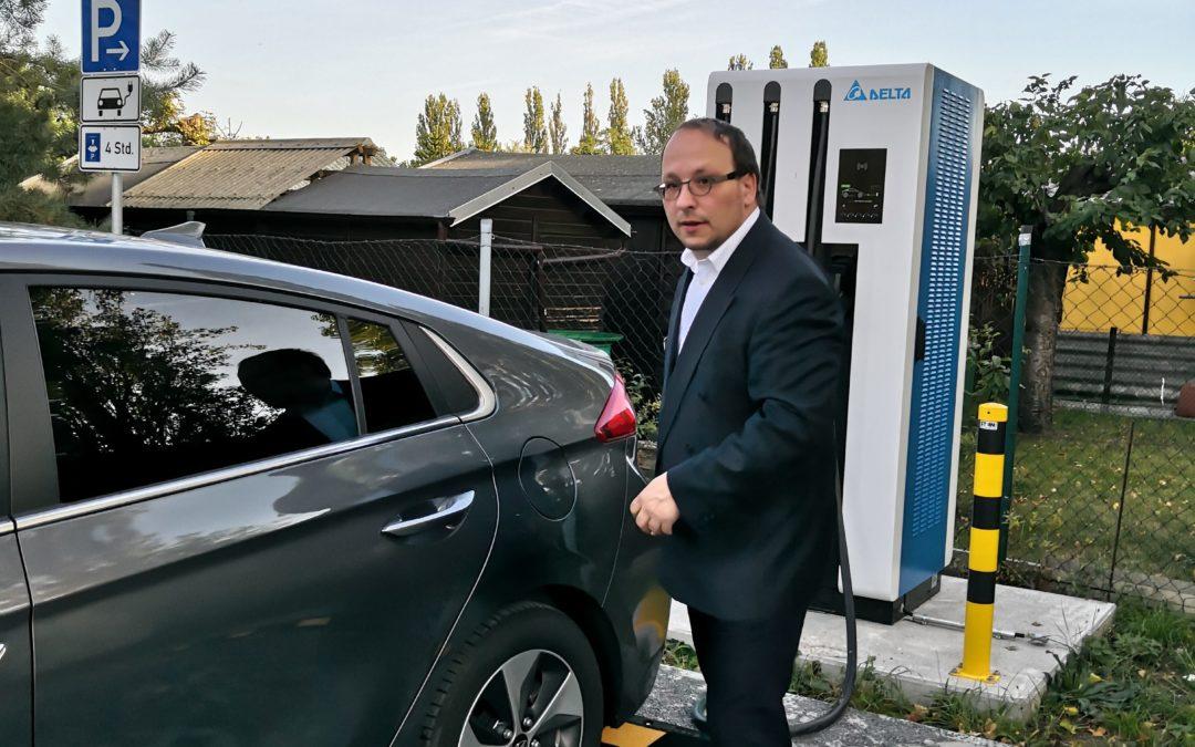 Canioniq beim Hyundai Ioniq Elektro