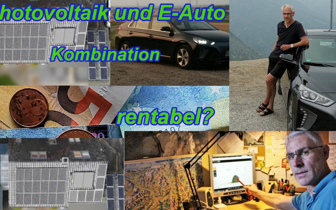 Wie rentabel ist die Kombination Photovoltaik und E-Auto? Und für wen?