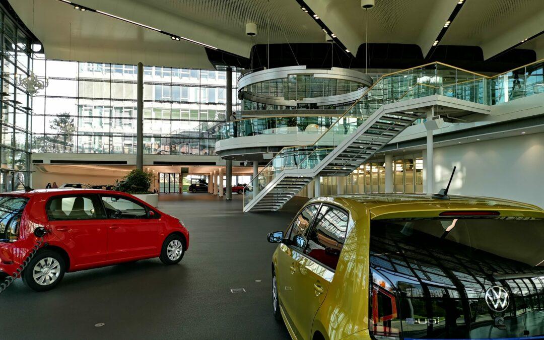 Wir holen unseren VW e-Up in Wolfsburg ab